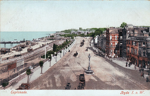 Ryde Esplanade looking east