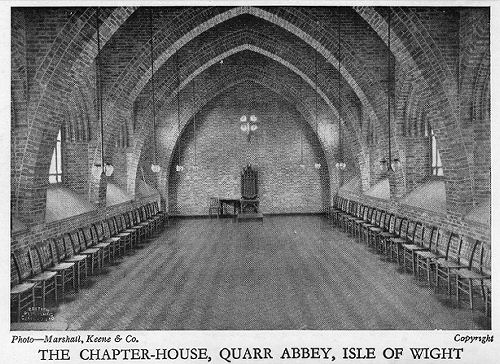 Quarr Abbey, Chapter House