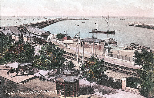 Ryde showing Victoria pier