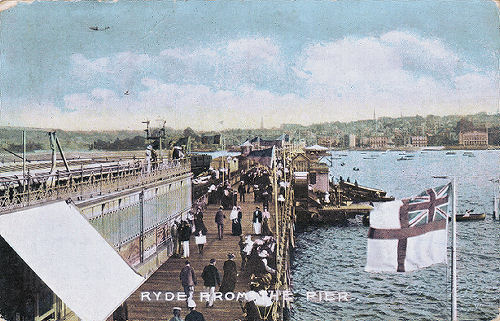 Ryde Pier showing Pier Head tramway station