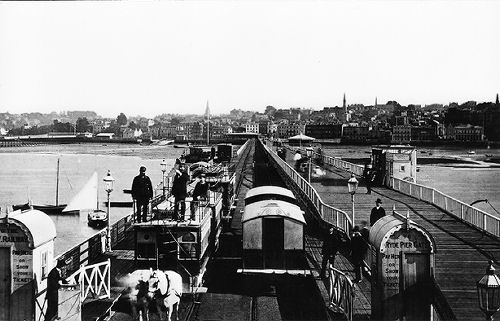 Ryde pier horse tramway