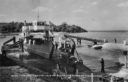 Fishbourne ferry